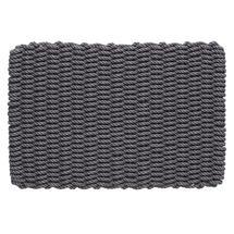 Outdoor Rope Doormat - Slate Grey