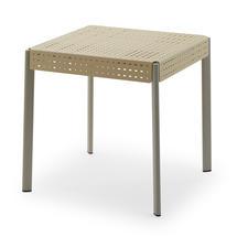 Gerda Table 75cm, Ivory / Pebble Grey