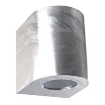 Canto 2 Wall Light - Galvanised
