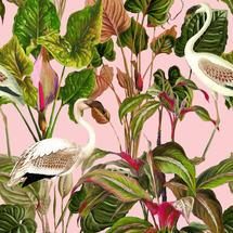 Wallpaper Beverly Hills Pink