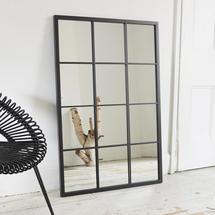 Large Outdoor Windowpane Mirror