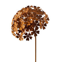Rusted Hydrangea Flower - Small