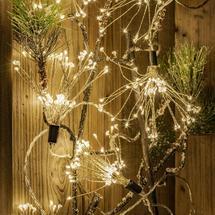 Starburst Sparkler 600 LED String Lights - Medium