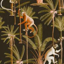 Wallpaper Barbados Anthracite