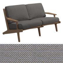 Bay 2 Seater Sofa - Granite Sling / Granite Cushions