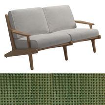 Bay 2 Seater Sofa - Leaf Sling / Blend Linen Cushions