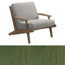 Bay Lounge Chair - Leaf Sling/Blend Linen