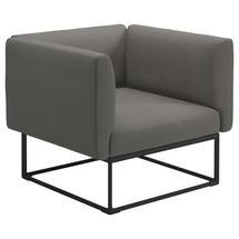 Maya Lounge Chair 97x86 Meteor - Fife Rainy Grey