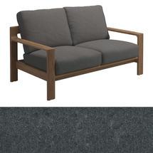 Loop 2-Seater Sofa Charcoal Strap - Granite