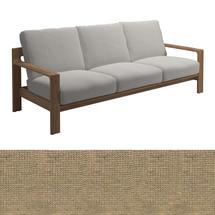 Loop 3-Seater Sofa Pebble Strap - Blend Linen