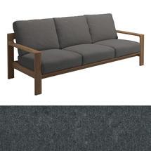 Loop 3-Seater Sofa Charcoal Strap - Granite