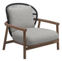 Fern Low Back Lounge Chair Meteor / Raven - Seagull