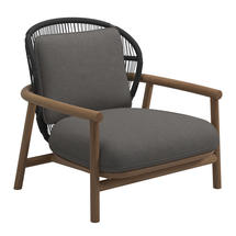 Fern Low Back Lounge Chair Meteor / Raven - Granite