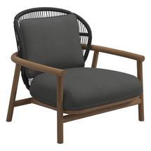 Fern Low Back Lounge Chair Meteor / Raven - Blend Coal