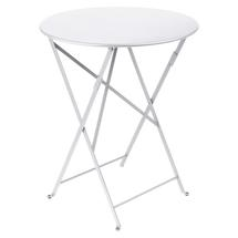Bistro+ 60cm Round Table  - Cotton White