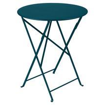 Bistro+ 60cm Round Table  - Acapulco Blue