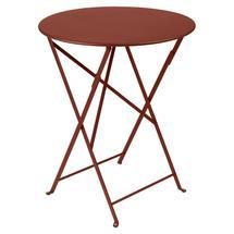 Bistro+ 60cm Round Table  - Red Ochre