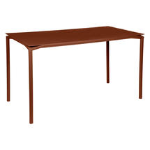Calvi High Table 160 x 80cm- Red Ochre