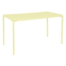 Calvi High Table 160 x 80cm- Frosted Lemon