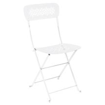 Lorette Folding Chair - Cotton White