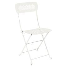 Lorette Folding Chair - Clay Grey