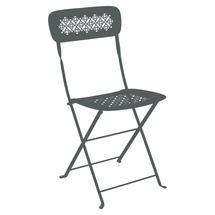 Lorette Folding Chair - Storm Grey
