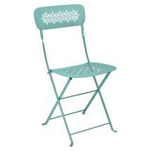 Lorette Folding Chair - Lagoon Blue