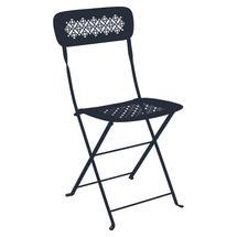Lorette Folding Chair - Deep Blue