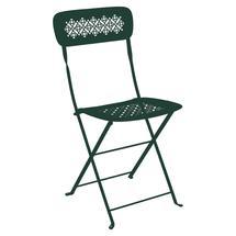 Lorette Folding Chair - Cedar Green