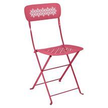 Lorette Folding Chair - Pink Praline