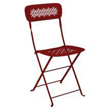 Lorette Folding Chair - Poppy