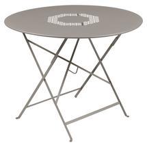 Lorette Folding 96cm Round Table - Nutmeg