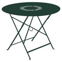 Lorette Folding 96cm Round Table - Cedar Green