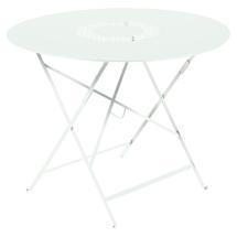 Lorette Folding 96cm Round Table - Ice Mint
