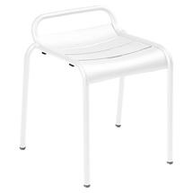 Luxembourg Stool - Cotton White