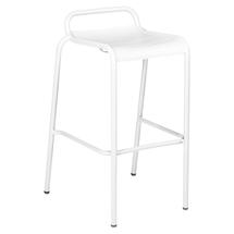 Luxembourg Bar Stool - Cotton White