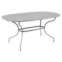 Opera+ Oval 160 x 90cm - Steel Grey