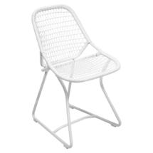 Sixties Dining Chair - Cotton White