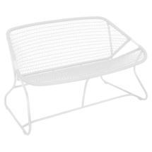 Sixties Sofa - Cotton White/White