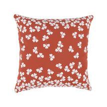 Trefle Cushion 44cm x 44cm – Red Ochre