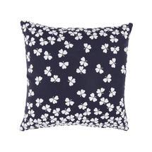 Trefle Cushion 44cm x 44cm – Deep Blue