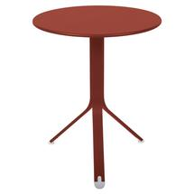 Rest'o 60cm Round Table - Red Ochre