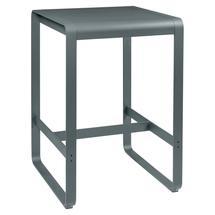 Bellevie High Table 74 x 80 - Storm Grey