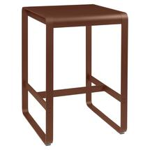 Bellevie High Table 74 x 80 - Red Ochre