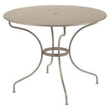 Opera+ 96cm Round Table - Nutmeg
