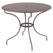 Opera+ 96cm Round Table - Russet