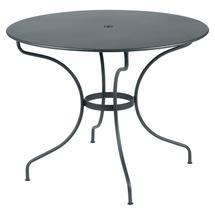 Opera+ 96cm Round Table - Storm Grey