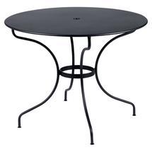 Opera+ 96cm Round Table - Anthracite