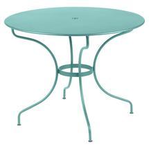 Opera+ 96cm Round Table - Lagoon Blue