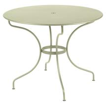 Opera+ 96cm Round Table - Willow Green